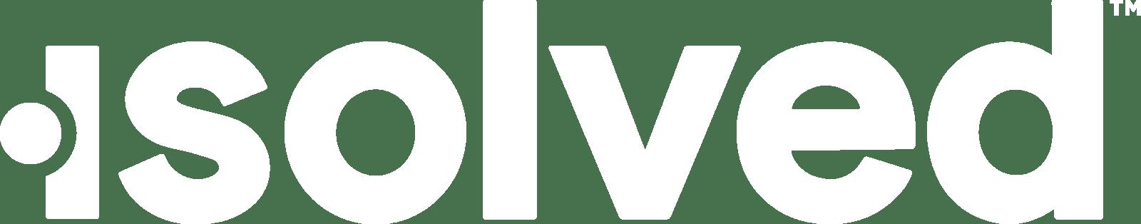 isolved white logo