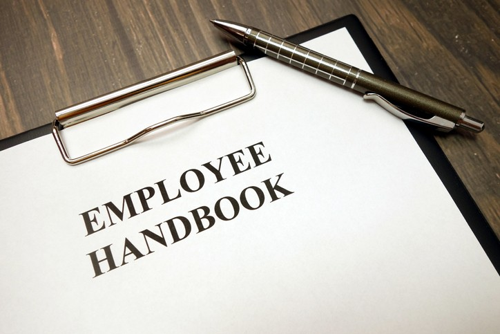 Creating employee handbook